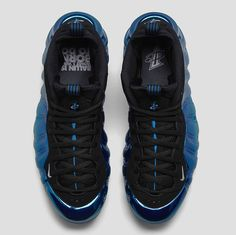 424654dba02 Nike Foamposite One Blue Mirror