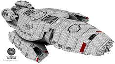 Arvak Class Battlestar Sleipnir