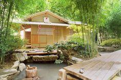Jardin du panthéon bouddhique