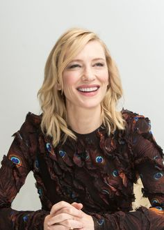 Truth - Los Angeles Press Conference - Cate Blanchett