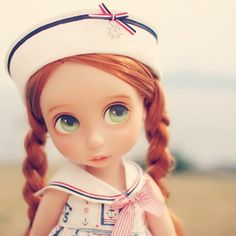 Adorable sailor suit on Rapunzel. Another great outfit and design by Jihm89
