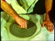 """Peeler Ceramic Film Series """"Handbuilding Techniques""""  One of the four methods films in the series. An excellent """"How to make pottery without the wheel"""" Richard Peeler shows soft slab, stiff slab, Coil, Carving, Pinching, Drape Molding, Surface Treatment and other techniques along with stressing good construction and craftsmanship practices."""