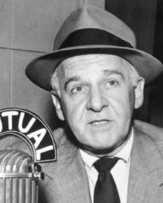 ON THE AIR (Mutual Radio) - news & gossip columnist  Walter Winchell