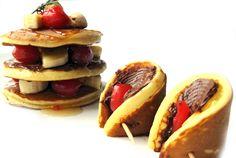 Meyveli Çikolatalı Enfes Pankek Tarifi | Oktay Ustam İlk Yemek Tarifleri Resmi Web Sitesi