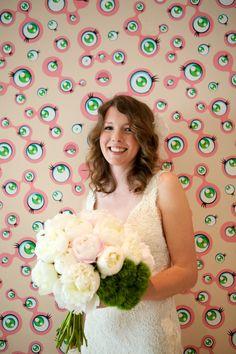 All eyes on the bride. Location: Walker Art Center. Photography: Kate Garnet