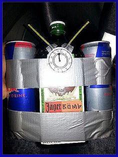 Homemade Jäger Bomb