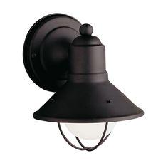 Kichler Lighting Kichler Nautical Outdoor Wall Light in Black Finish 9021BK