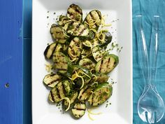 Lemony zucchini with chives recipe -