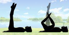Jak zpevnit stehna i břicho? Jednoduché cvičení na doma 5 minut před spaním, které zaručuje výsledky! – eJak.cz Yoga Fitness, Health Fitness, Tracy Anderson, Pilates, Challenges, Sporty, Exercise, Workout, Animals