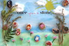 Storytelling with rocks! Diy For Kids, Crafts For Kids, Arts And Crafts, Diy Crafts, Ideias Diy, Three Little Pigs, Conte, Summer Activities, Kids Gifts