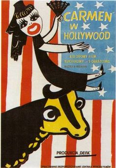 Carmen w Hollywood - Henryk Tomaszewski Polish poster gallery Polish poster school Saul Bass, Love Posters, Vintage Posters, Illustrations, Illustration Art, Pop Art, Polish Posters, Circus Poster, Kunst Poster