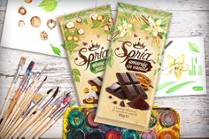 Packaging of the World: Creative Package Design Archive and Gallery: Spria Chocolate