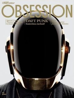 Daft Punk on Obsession Magazine, May 2013