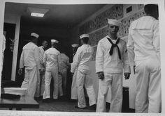 sailors at tattoo parlor
