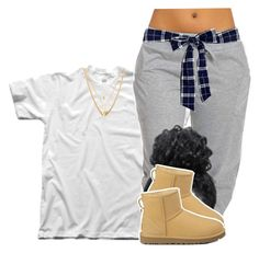 """""""Untitled #468"""" by princess-miyah ❤ liked on Polyvore featuring Madewell, UGG Australia and Ettika"""