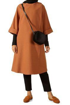 ALLDAY Cardigan with Mustard Studs 919 2019 Hijab Clothing Tesettür Hırka Modelleri 2020 Hijab Chic, Hijab Style, Casual Hijab Outfit, Muslim Fashion, Hijab Fashion, Fashion Outfits, Womens Fashion, I Love Fashion, Timeless Fashion