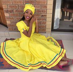Pedi Traditional Attire, Sepedi Traditional Dresses, Traditional Wedding Attire, African Traditional Wedding, African Wear Dresses, Latest African Fashion Dresses, African Print Fashion, African Prints, African Wedding Attire