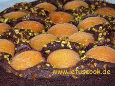 Schokoladen-Aprikosen Kuchen-შოკოლადის და გარგარის ნამცხვარი