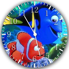 """New finding nemo wall Clock 10"""" will be nice Gift and Room wall Decor Z141"""