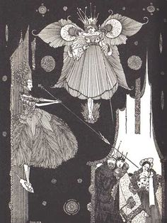 Perrault, Charles. Fairy Tales of Charles Perrault. Harry Clarke, illustrator. London: George G. Harrap & Co., 1922.