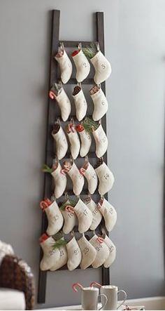 such a cute stocking ladder advent calendar http://rstyle.me/n/uihz9r9te