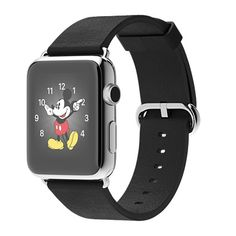 Apple Watch | Apple | 42mm Stainless Steel Case with Black Classic Buckle | $699