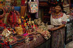 Craft Shop at Guatemala