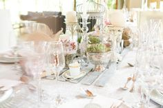 Classic Vintage Real Weddings, Table Decorations, Classic, Summer, Vintage, Home Decor, Derby, Summer Time, Decoration Home