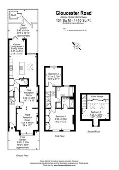 Victorian terrace (With images) Victorian Terrace House, Victorian Townhouse, Terrace Floor, Terrace Garden, House Extension Plans, Extension Ideas, Rear Extension, Home Design Plans, Plan Design