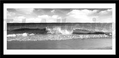Adesivi Murali Onda sulla spiaggia