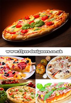 pizza images suitable for takeaway flyer www.flyer-designers.co.uk #pizza #flyerdesign #takeawayleaflets