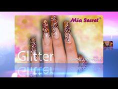 Colección de Acrílicos GLITTER   Mia Secret - YouTube