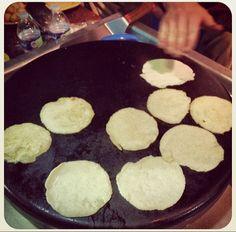 Fresh house made corn tortillas. Now that's tradition #fresh #corn #tortilla #evo #grill #taco