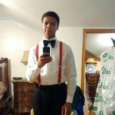 Phillip ready for church