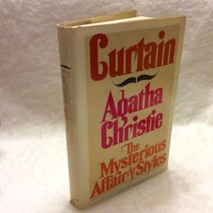 Agatha Christie The Mysterious Affair at Styles and Curtain double book 1975