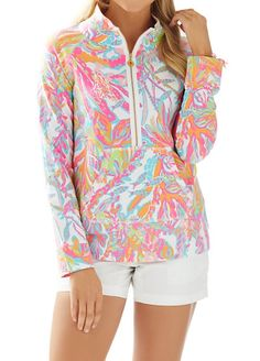 Pullover Perfection! We love the Lilly Pulitzer Skipper Printed Popover in Scuba to Cuba! #AshworthPrimandProperLoves