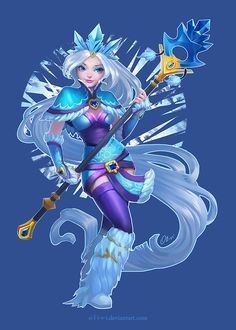 Ok, I back to old, easy but interesting theme for me - DotA fan arts. I almost haven't free time but found some for this Templar Assassin.Not Disney style. More like League of Legends splash ...