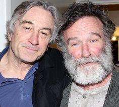 Robert DeNiro and Robin Williams 1951 - 2014