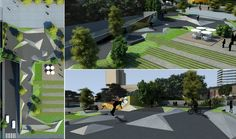 SKATE PARK (estudo) #jonasbirgerarquitetura