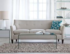 Structube - Living room : Sofas & loveseats : Miami (Charcoal ...