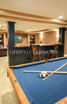 Pool Table I Want To Change My Garage Into This Type Of Room Or - Lifestyle basements