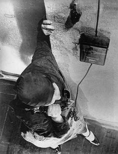 Alexander Rodchenko on the telephone 1928