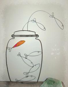 poissons sauteurs - Photo de Fil et tissu - l'atelier de sof
