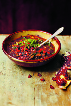 Seed your Soup, No VC Needed, Pomegranate Soup