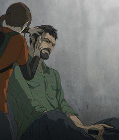 The Last of Us Joel and Ellie via Tumblr