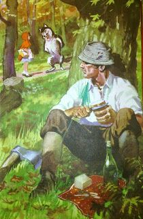 Little Red Riding Hood and Other Wolfish Things: Harry Wingfield. Ladybird. The woodcutter doesn't like the look of him.