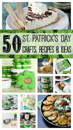 50 St. Patrick's Day Crafts, Recipes & Ideas | White Lights on Wednesday