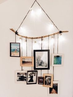 Driftwood frame holder diy interior