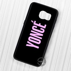 Beyonce Title Music - Samsung Galaxy S7 S6 S5 Note 7 Cases & Covers