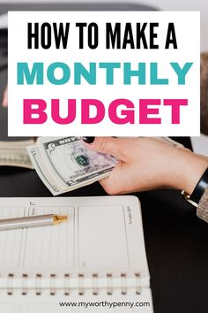 Looking to make a monthly budget? Here is a step by step guide on how to make a monthly budget. You can use a how to make a monthly budget planner, monthly budget bullet journal, monthly budget template or a monthly budget spreadsheet to make it easier. Create a monthly budget for beginners to start saving money. #createabudget Budget Help, Making A Budget, Create A Budget, Monthly Budget Spreadsheet, Monthly Budget Template, Budgeting Finances, Budgeting Tips, Dave Ramsey Quotes, Dave Ramsey Envelope System